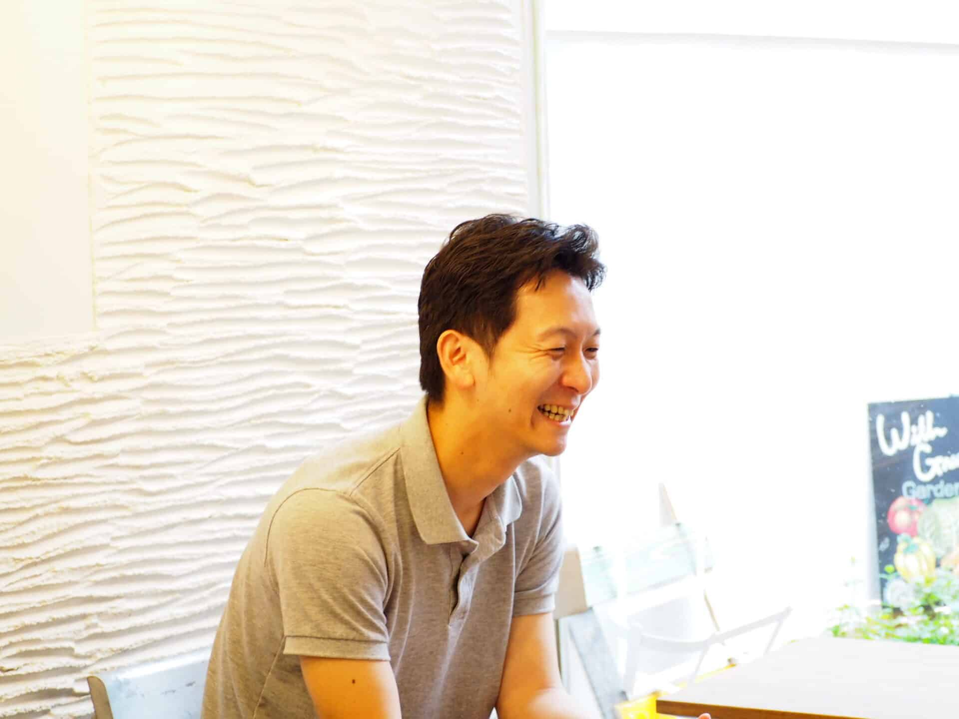 サラダボウル専門店WithGreen 代表取締役武文智洋さん